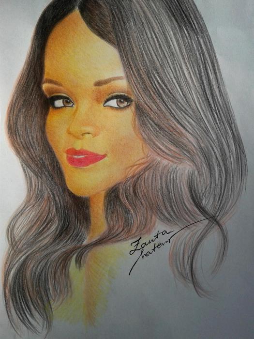 Rihanna by JeanettePL